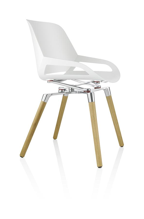 NUMO wood konferansestol Degvold Kontormøbler AS